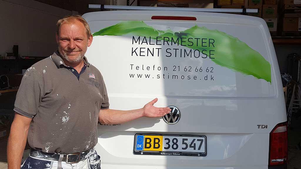 Malermester Kent Stimose - din lokale maler i Ejby